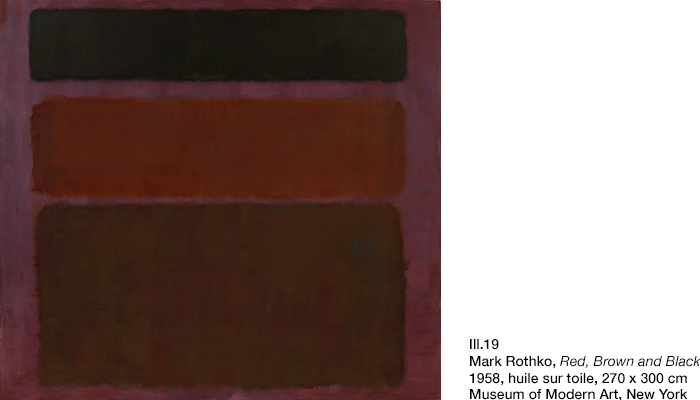 Rothko, Red, Brown and Black